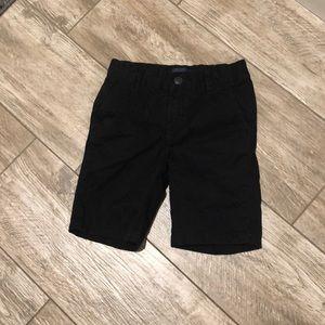 Boys black shorts size 6